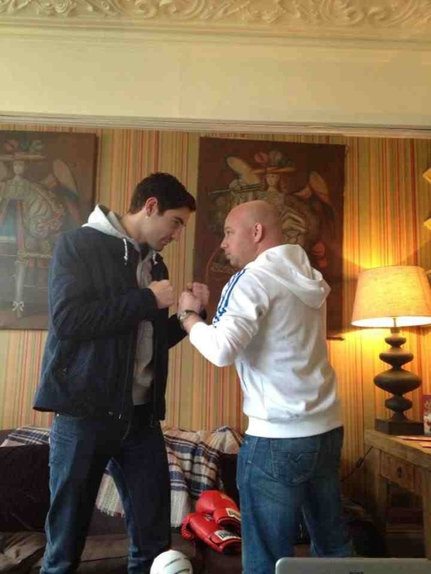 Buglioni squares off with The Brain...!